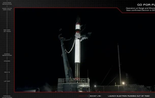 Запуск ракеты Rocket Lab со спутниками потерпел неудачу