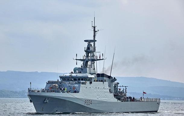В Черное море вошел патрульный корабль Великобритании