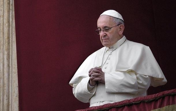 Папа Римський відреагував на ситуацію в Ізраїлі