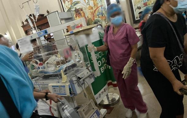 На Филиппинах пять часов горела одна из самых больших больниц страны