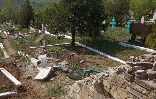 Сепаратисты разрушили кладбище на Луганщине