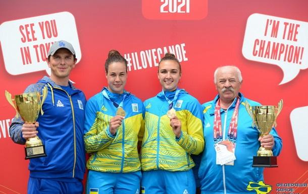 Украинские гребцы выиграли 10 медалей на Кубке мира в Сегеде