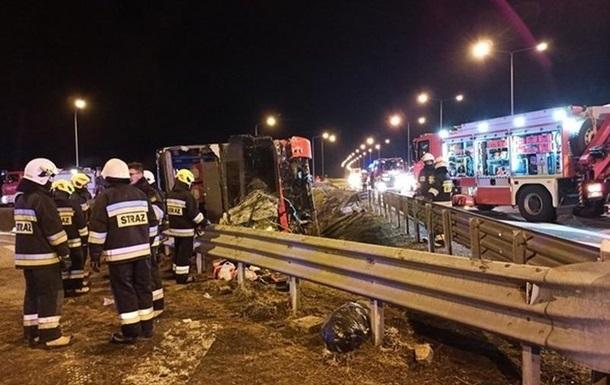 ДТП с украинским автобусом в Польше: число жертв выросло