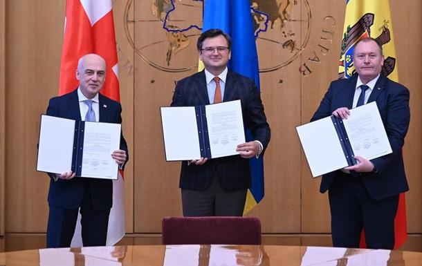 Украина стала создателем  Ассоциированного трио