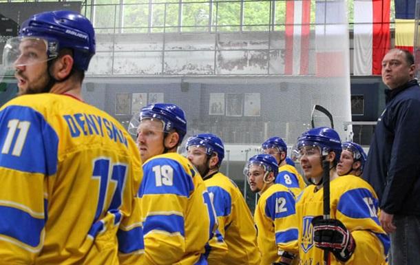 Сборная Украина по хоккею уступила Румынии на турнире в Любляне