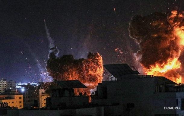 По Израилю за ночь из сектора Газа выпустили 90 ракет