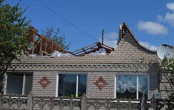 Херсонскую область накрыл мощный ураган