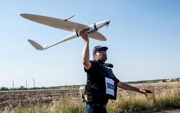 Во время аварийной посадки из-за помех сигналу был поврежден дрон ОБСЕ