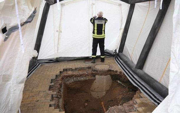 У Німеччині виявили восьмиметровий тунель, що веде до банку