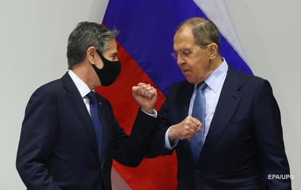 Блінкен і Лавров обговорили питання України - Держдеп
