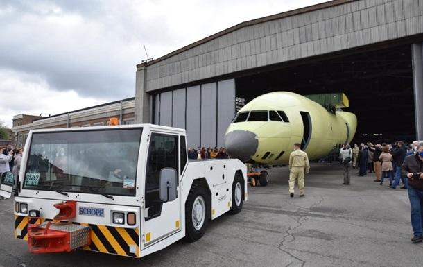 Антонов показав фюзеляж літака Ан-178Т для ЗСУ