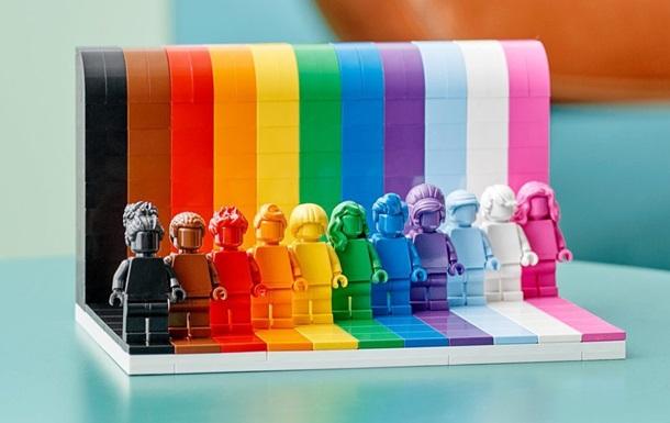 Lego представит первый набор в поддержку ЛГБТ- сообщества