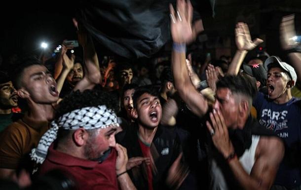 Режим прекращения огня между Израилем и сектором Газа отметили салютом