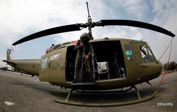 В Перу полицейский вертолет разбился в заповеднике
