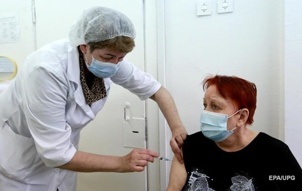 Вторую COVID-прививку получили 70 тысяч украинцев