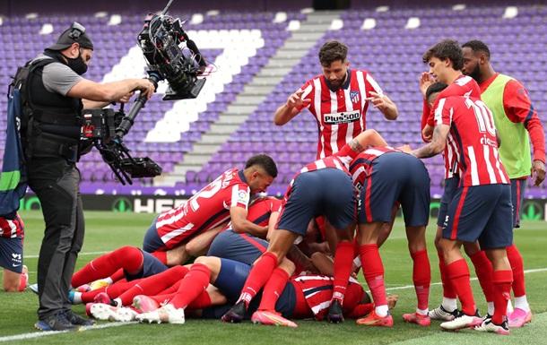 Атлетико выиграл чемпионат Испании-2020/21