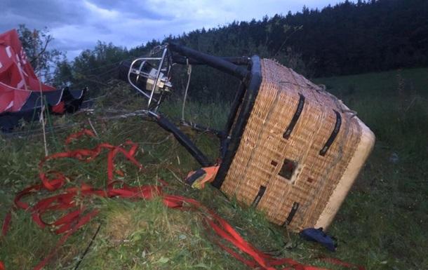 Падіння повітряної кулі на Хмельниччині: в поліції розповіли подробиці