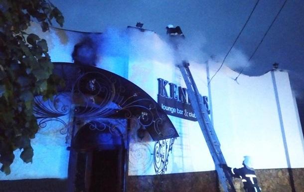 В Каменец-Подольском сгорел ночной клуб