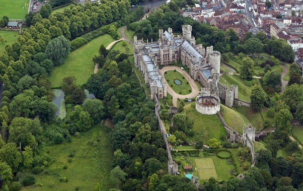 Из британского замка украли реликвии на £1 млн