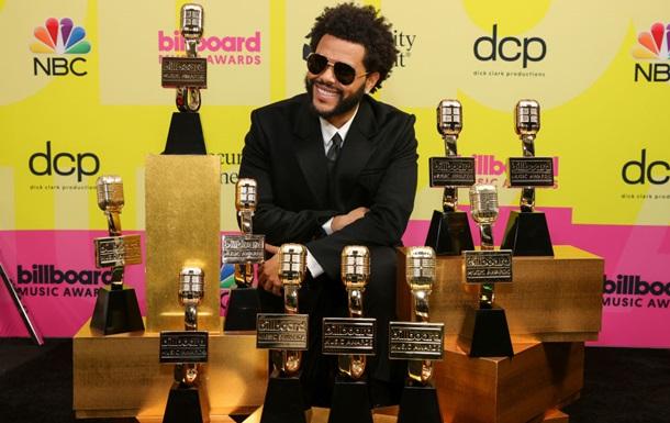 The Weeknd стал триумфатором премии Billboard