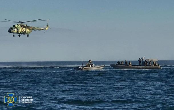 СБУ на Одещині звільняла  захоплене  терористами судно