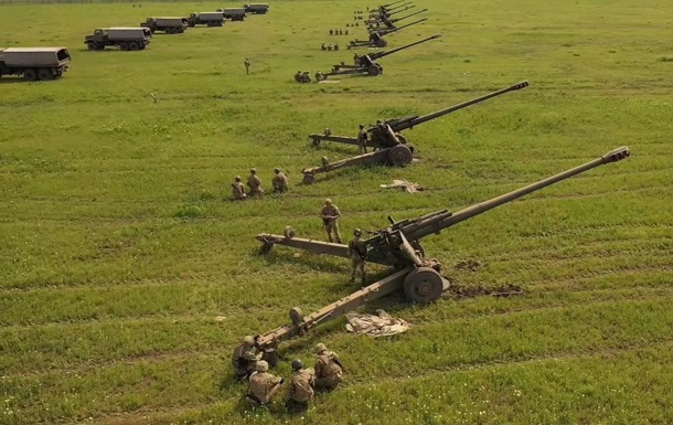 Артилерія ЗСУ відпрацювала протидію десанту біля Криму