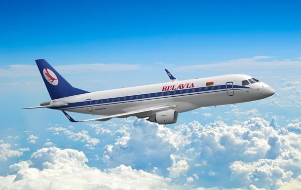 Самолет Белавиа не пустили в воздушное пространство Польши