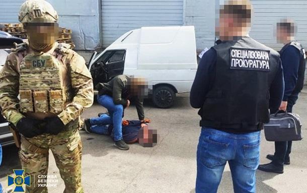 В Черкассах СБУ задержала торговавшего оружием нацгвардейца