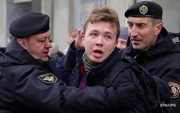 В 'ЛНР' 'завели дело' на задержанного в Минске Протасевича