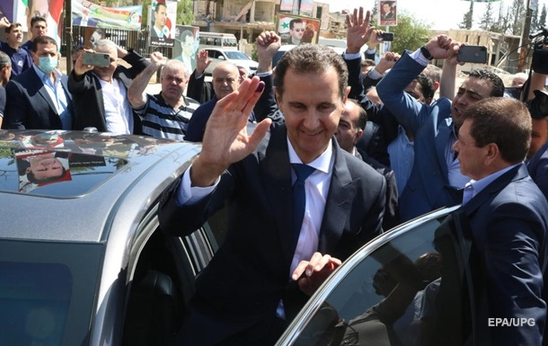 На выборах президента Сирии победил Башар Асад