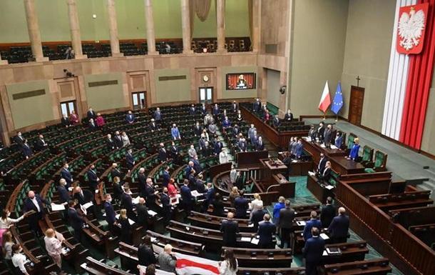 Сейм Польши призвал Беларусь освободить политзаключенных