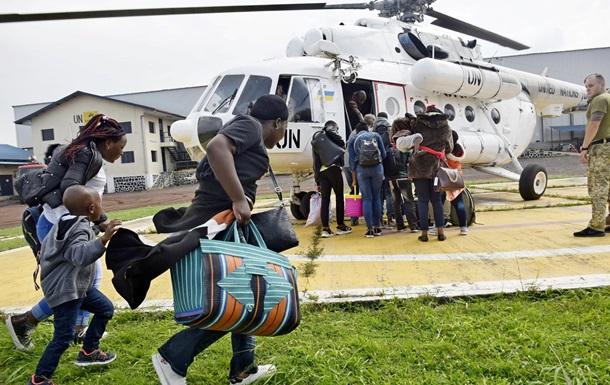 При извержении вулкана в Конго украинские миротворцы эвакуируют людей