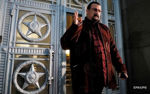 Стівен Сігал вступив у російську партію