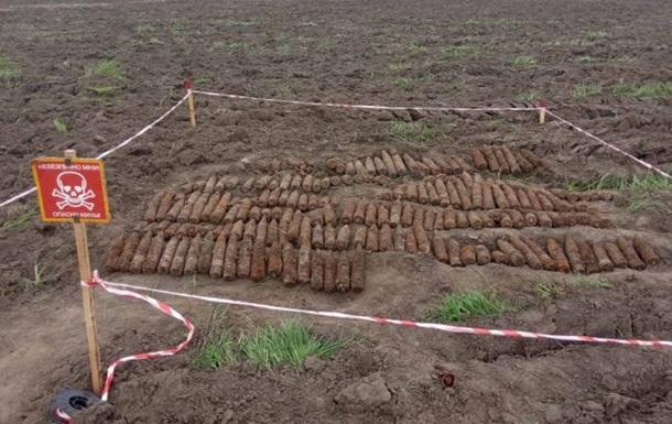 В Черкасской области нашли снаряды времен Второй мировой