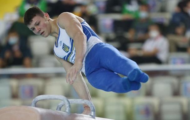 Українські гімнасти виграли три медалі на етапі Кубка світу в Болгарії