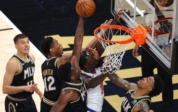 НБА: Финикс сравнял счет в серии с Лейкерс, Атланта разобралась с Никс