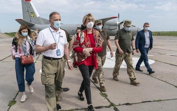 Генсек ОБСЄ назвала `крихкою` ситуацію на Донбасі