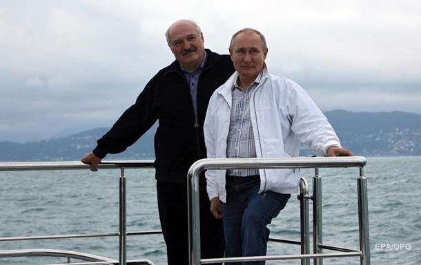 Лукашенко і Путін обговорили затримання росіянки