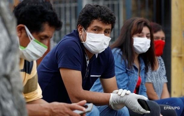 У Перу оновили статистику кількості смертей від COVID-19