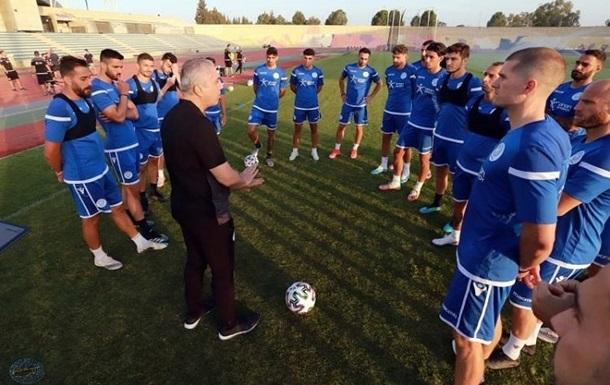 Сборная Кипра огласила заявку на товарищеский матч с Украиной