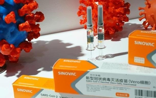 ВООЗ схвалила вакцину Sinovac