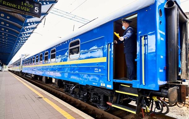 Укрзализныця показала поезд Киев-Вена изнутри