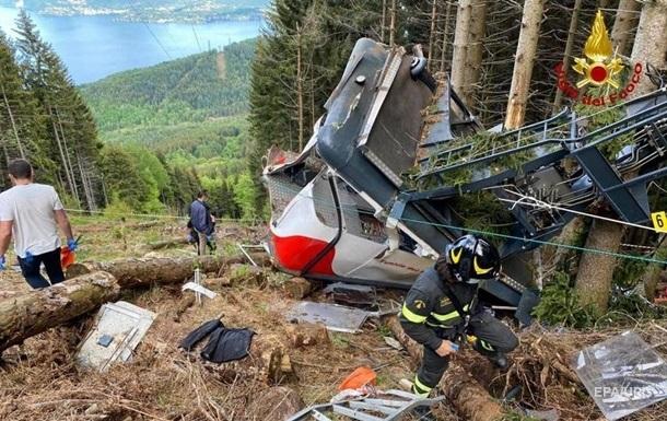 Обрыв на канатной дороге в Италии: появились новые подробности трагедии