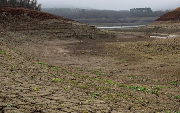 В Крыму усилилось пересыхание рек и водохранилищ