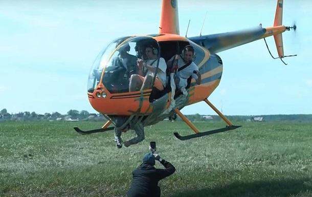 В РФ завели дело на причастных к видео с летающим на вертолете мужчиной