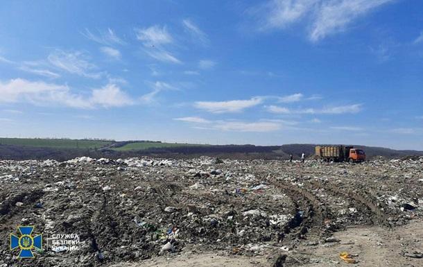 На Харьковщине при эксплуатации свалки загрязнили почву и подземные воды