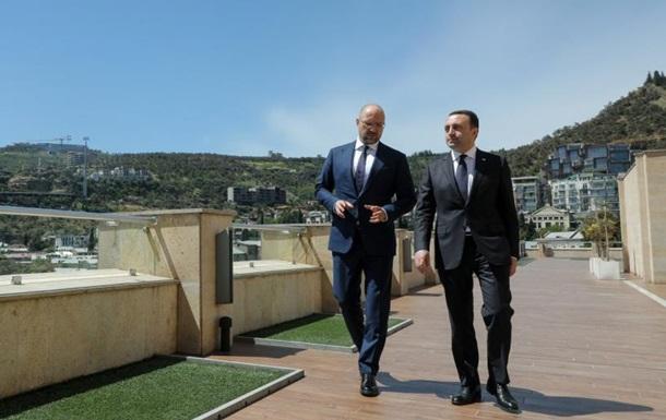 Шмигаль обговорив співпрацю з прем єром Грузії