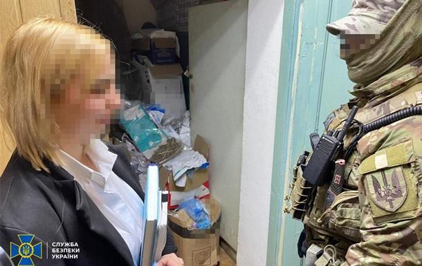 Поліцейська продавала кокаїн з речдоків - СБУ