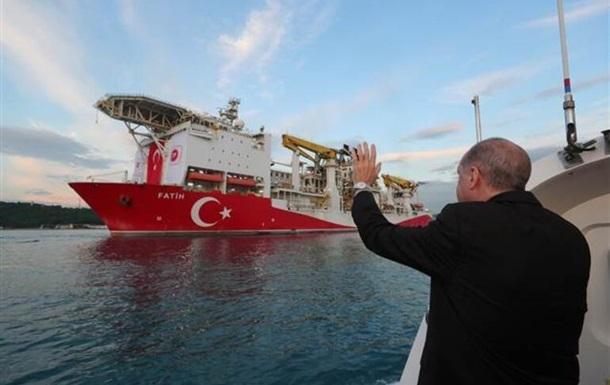 Туреччина виявила нові родовища природного газу в Чорному морі