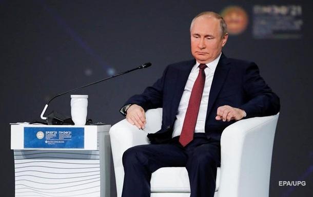 Путін назвав терміни добудови другої нитки ПП-2